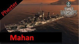 Mean Mahan - World of Warships (ep21) - Gameplay