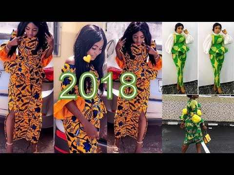 Latest African Dresses 2018 : Recent Beautiful African Dreses Collection
