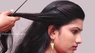 Different hairstyles for wedding, party, function | Quick Hairstyles 2018 || Everyday hairstyles