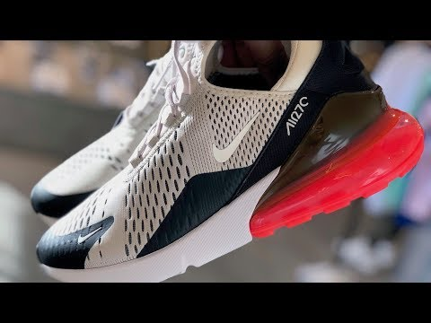 Nike Air Max 270 On-Feet and Review (Sneaker Vlog!)
