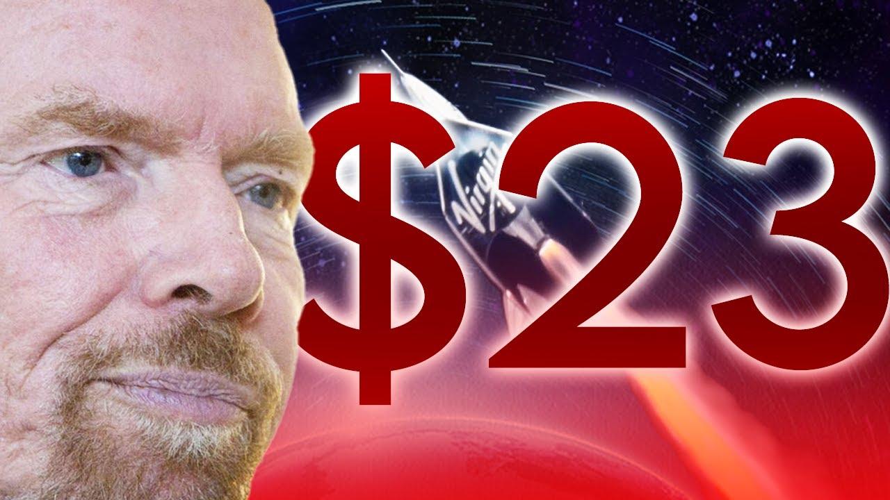 Short Sellers Worst Nightmare: $23 Virgin Galactic Stock