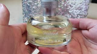 Burberry weekend perfume review