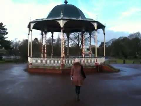 West Park Bandstand bench to bandstand