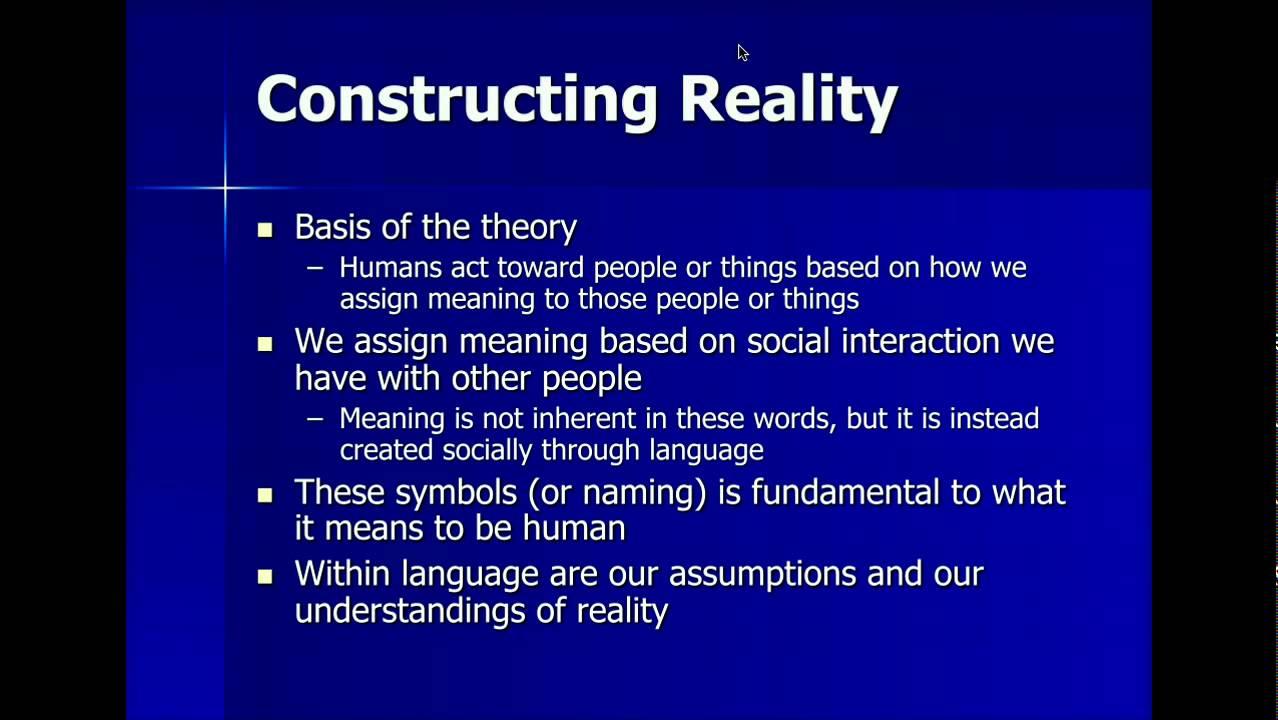 Symbolic interactionism part 1 youtube symbolic interactionism part 1 biocorpaavc Gallery