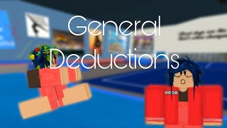 Explaining General Deductions | ft. KiraTheCuteDoggy | ROBLOX Gymnastics
