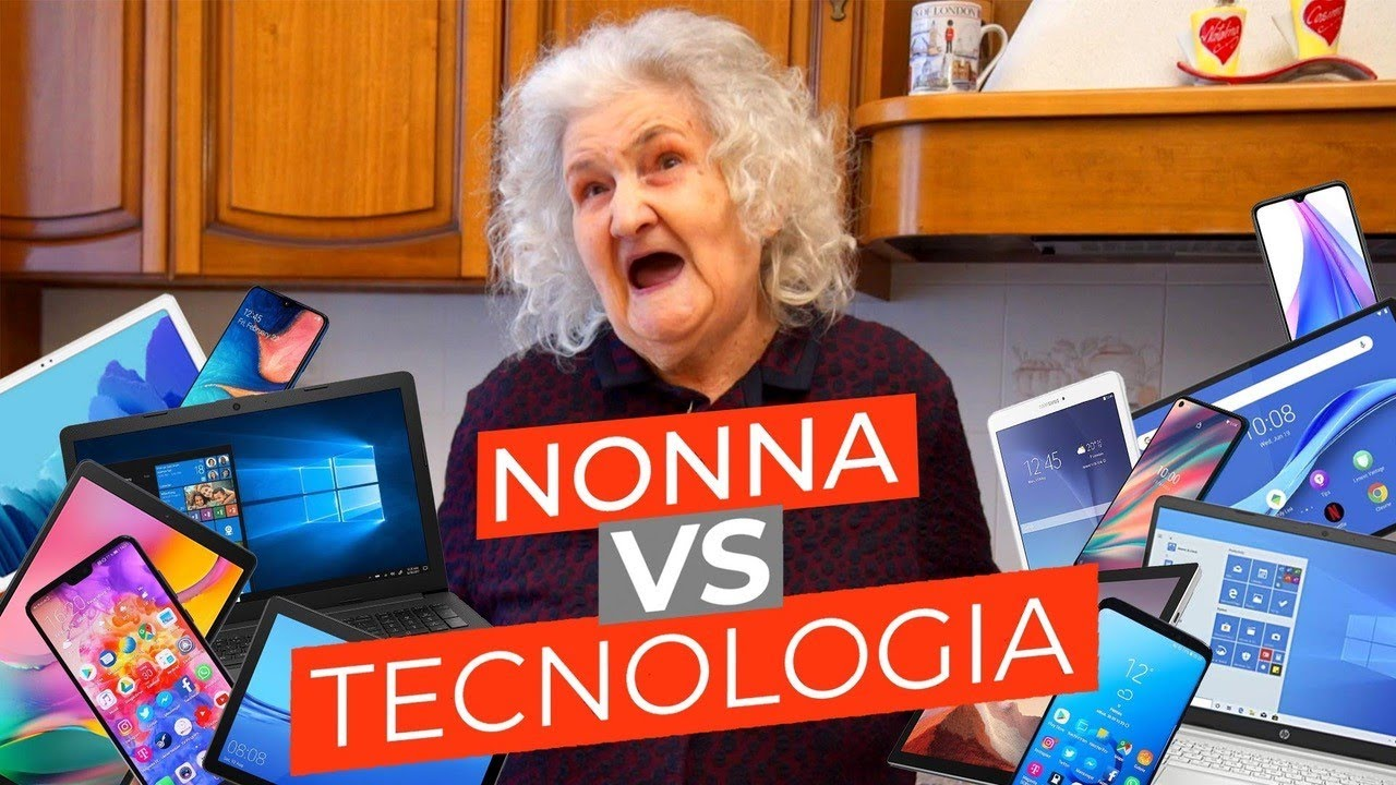 MIA NONNA VS TECNOLOGIA - PARODIA - iPantellas