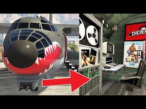 "*BEST PLANE EVER!!* GTA 5 ""RM-10 BOMBUSHKA"" $7,500,000 SMUGGLER'S RUN DLC SPENDING SPREE!!"