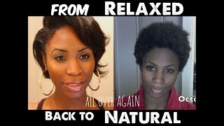 From RELAXED back to NATURAL...again Part 6 (finale of part 1) Thumbnail