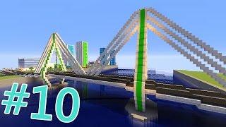 МОСТ! | Строим новый город в Minecraft #10
