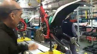 En BETAMOTOR ARGENTINA armando la BETA 300cc 2T Enduro Competición