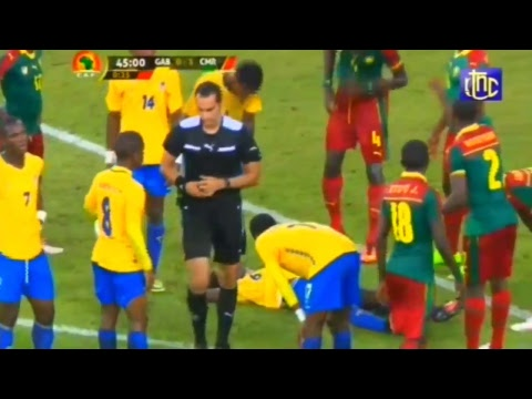 SPORT-CAF: Gabon Vs Cameroun 1