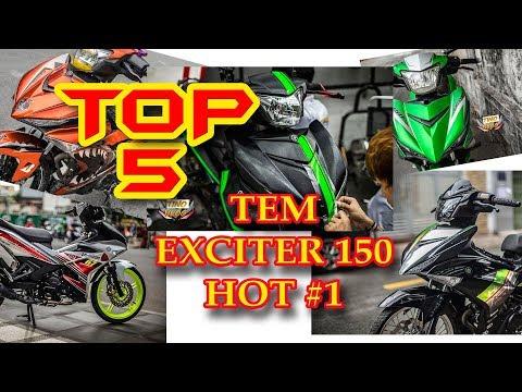 TOP 5 TEM XE EXCITER 150 2019 ĐẸP NHẤT HIỆN NAY #1
