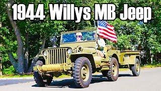 1944 Willys Overland MB World War II Jeep