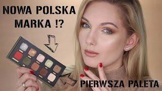 NOWA POLSKA MARKA !? VAV BEAUTY - TEST PALETY CIENI