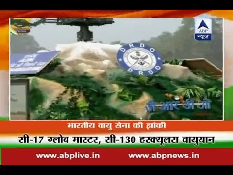 67th Republic Day: Defence Research and Development Organisation(DRDO)  tableau at Rajpath