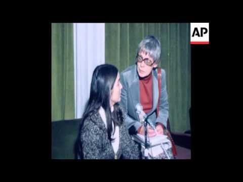 SYND 29 1 78 SISTER OF CHE GUEVARA PRESS CONFERENCE ON ARGENTINA