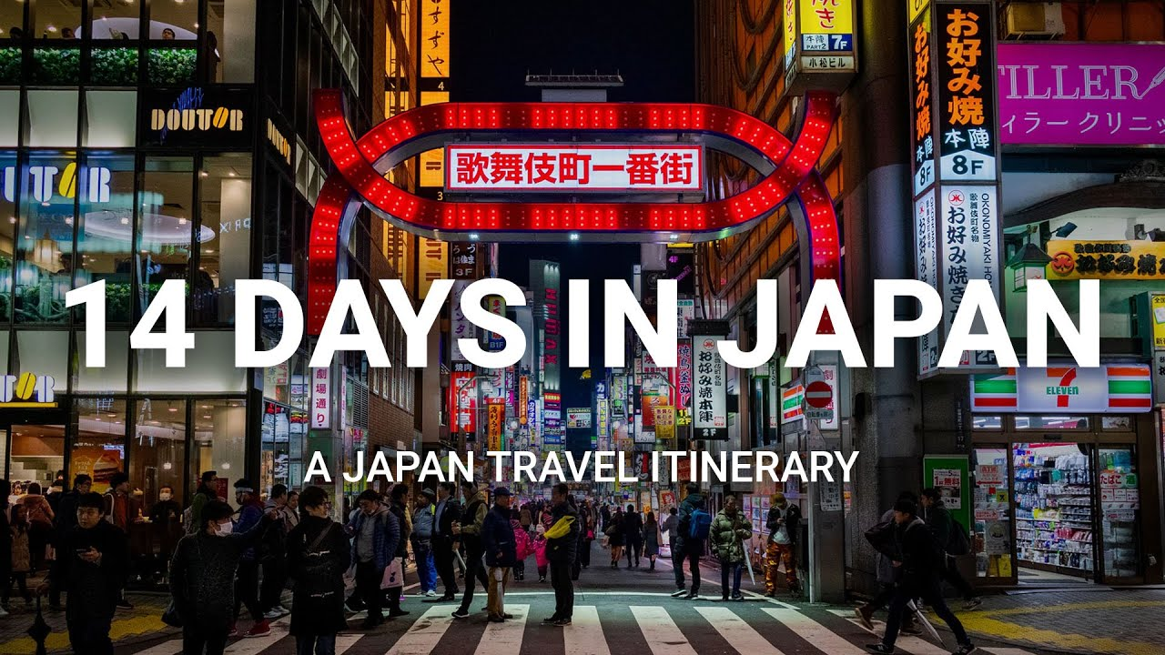 Download How to Spend 14 Days in Japan  - A Japan Travel Itinerary