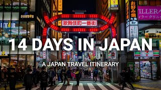 How to Spend 14 Days in Japan  - A Japan Travel Itinerary
