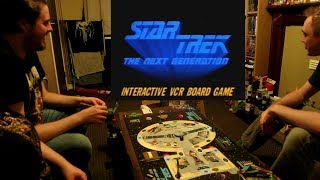 Star Trek: The Next Generation - VHS Board Game | LET'S PLAY #1