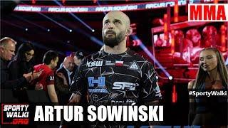 Artur Sowiński po porażce z Parke rzuca wyzwanie Krakowskiemu