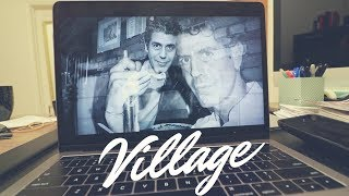 Finding My Village: Anthony Bourdain