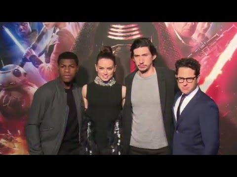 Star Wars The Force Awakens Korea Fan Event - Daisy Ridley, John Boyega, Adam Driver, JJ Abrams