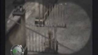 Sniper Elite (PS2) Gameplay