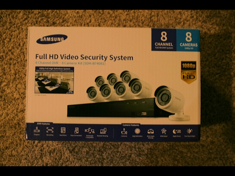 Samsung Security Camera System – Installation and Tip Guide