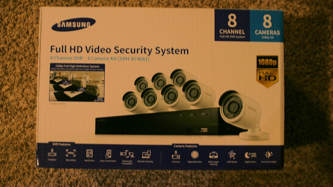 small resolution of samsung security camera system installation and tip guide