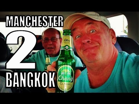 Manchester to Bangkok flying with Emirates with Geoff Carter