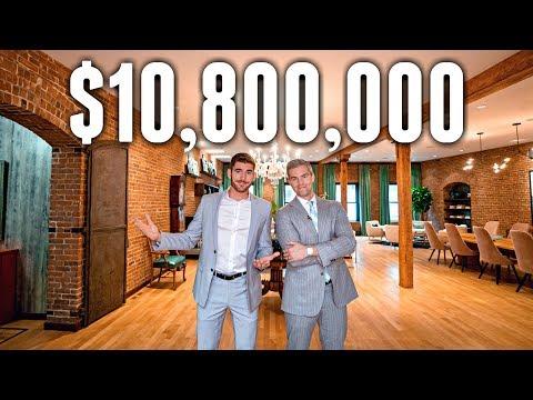 NYC Apartment Tour: $10.8 MILLION Historic Tribeca Luxury Lo