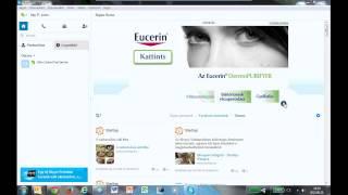 Eucerin masthead lenyíló banner (Skype) Thumbnail