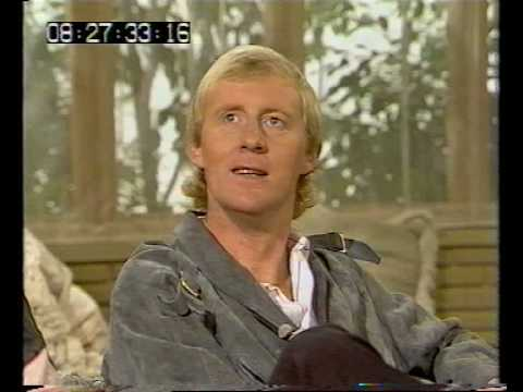 Chris Tarrant and Roland Rat on TV-am - 1983
