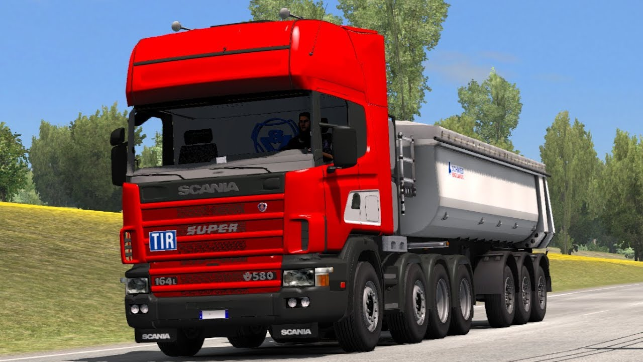 1 30 Euro Truck Simulator 2 Scania 4 V 2 3 Mods Youtube