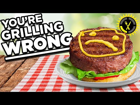 Food Theory: Do NOT Grill A Burger Like This! - The Food Theorists