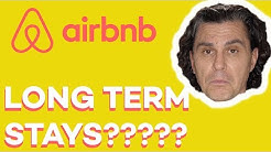 Should Airbnb Hosts Allow LONG-TERM Stays?? (what I do and when I would consider it)