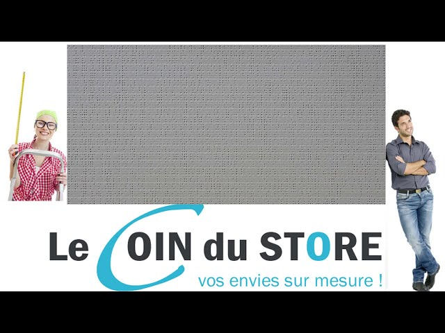 Toile PVC pour pergola et store Soltis Perform 92 Beton gris fer 2167 Serge Ferrari