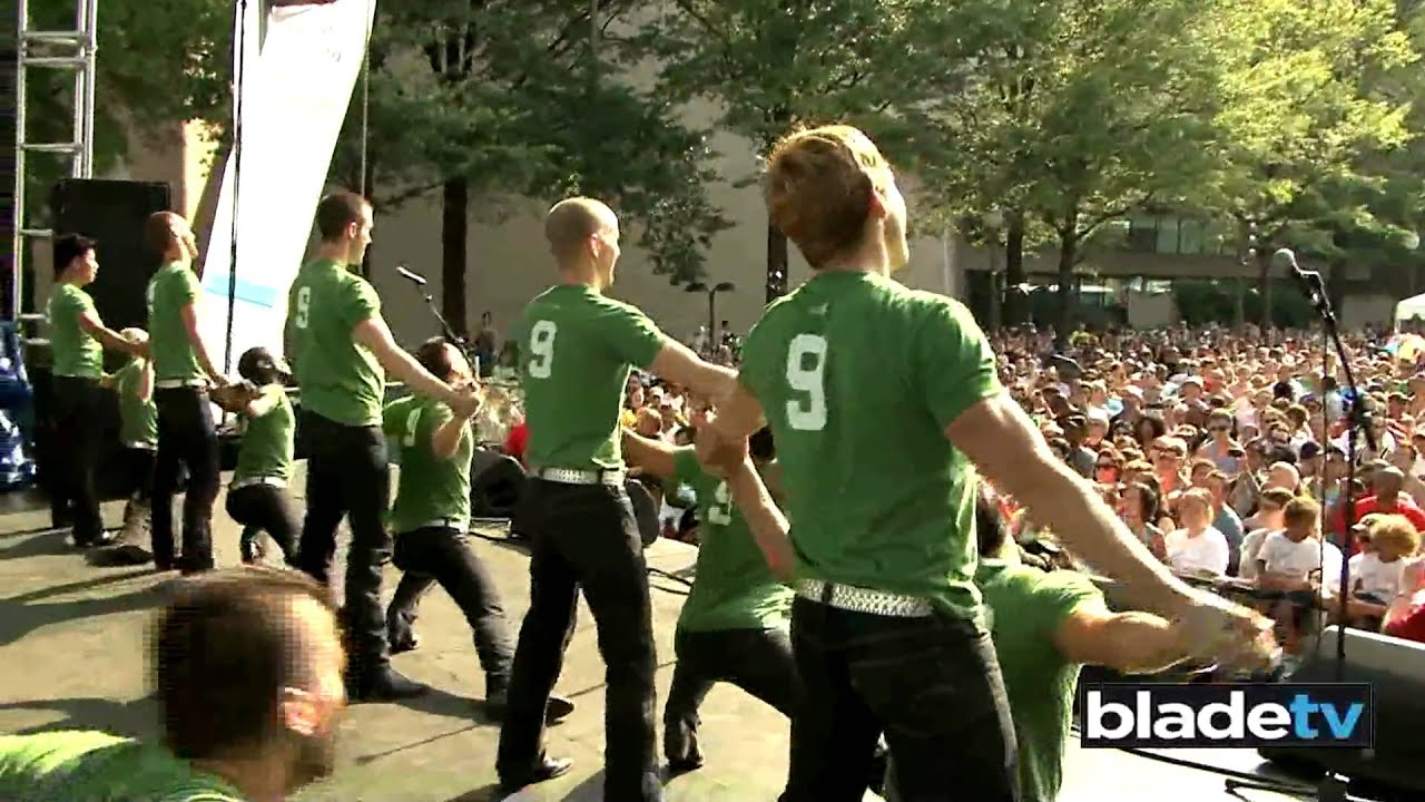 "DC Cowboys perform ""Mamma Mia"".mov"