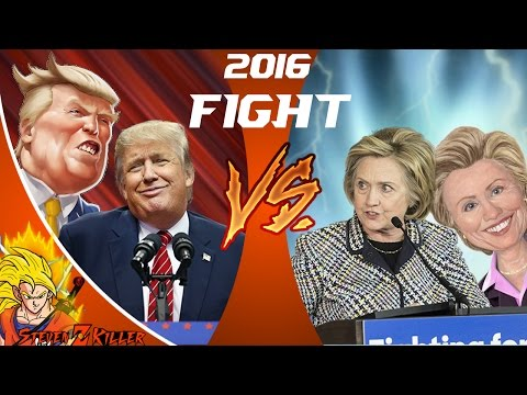 DONALD TRUMP vs HILLARY CLINTON! Cartoon Fight Club Episode 110 REACTION!!!