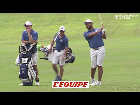 Golf - EurAsia Cup : Alexander Levy sur le pont