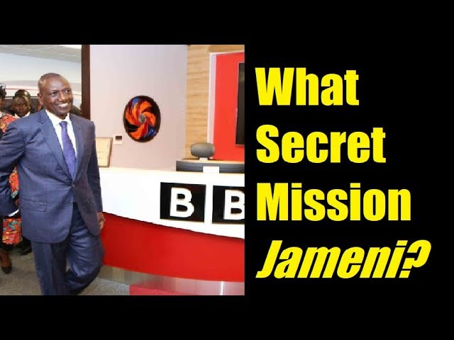 Rutos Secret Mission In London According To ODM Part 2
