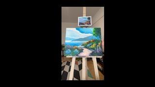 Letné Portofino - Maľujeme s PaintPeople