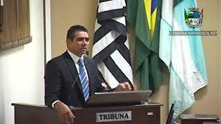 21ª Sessão Ordinária - Sérgio Leiteiro