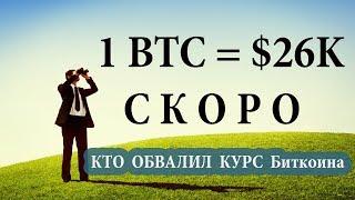 Когда начнет расти биткоин