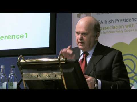 Minister Michael Noonan T.D. - Economic Governance and EMU: