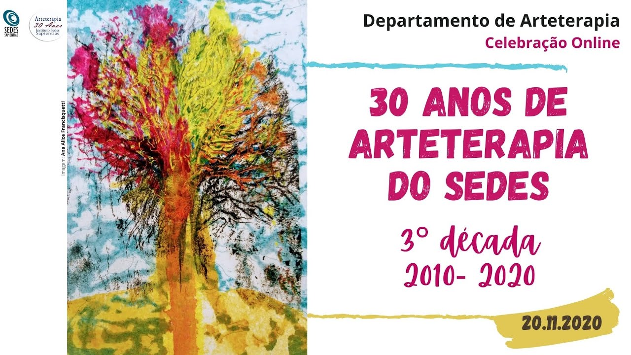 Vídeo 3°década - 30 anos da Arteterapia do Sedes
