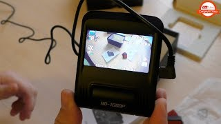 Распаковываем Zeepin D012 Видеорегистратор из Китая!