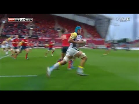 Justin Tipuric shows his class to create try vs Munster 2014