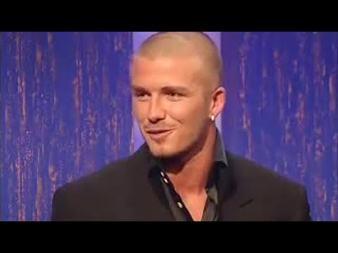 David Beckham Interview - part one - Parkinson - BBC