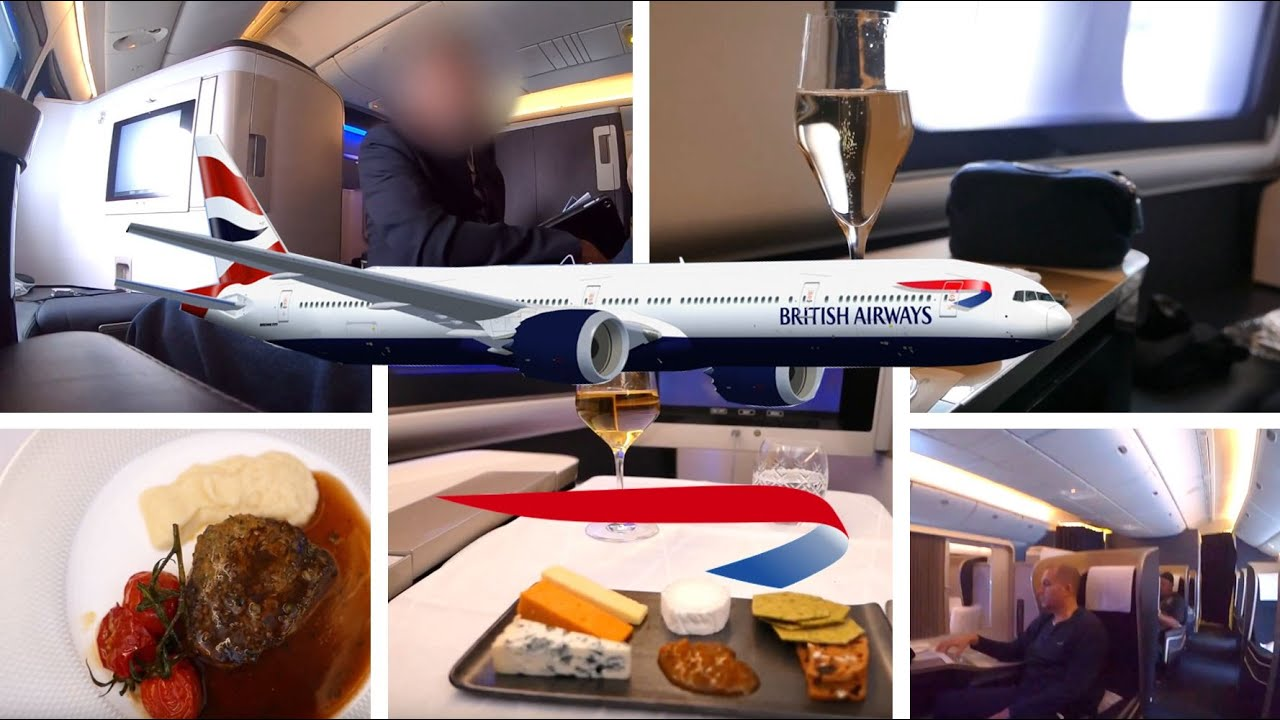 British Airways First Class, 777-200 Full Flight Trip ...